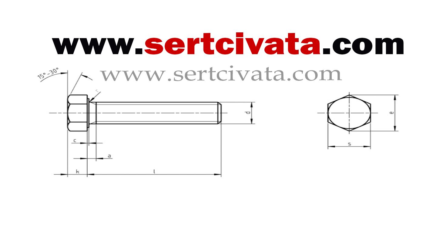 DIN558_ISO4018_altikose_basli_civata_imalat