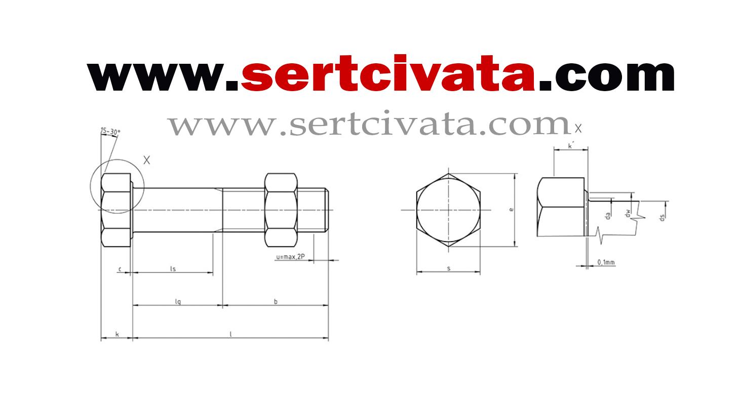DIN7990_Celik_konsturuksiyon_civatasi_ağır_yuk_civatasi_imalat